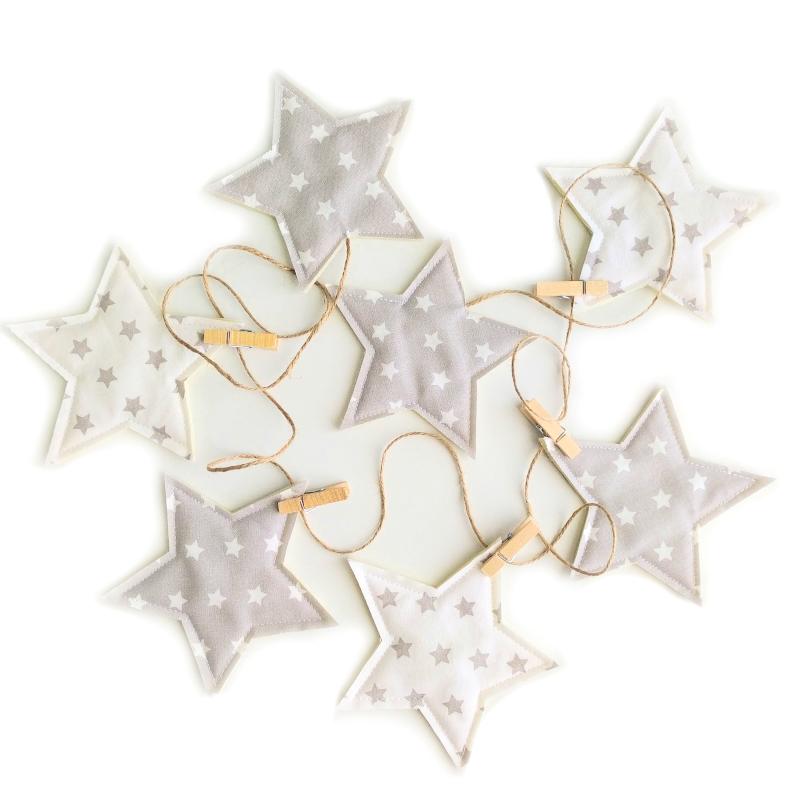 Guirnalda estrellas