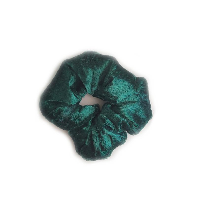 Coletero terciopelo verde