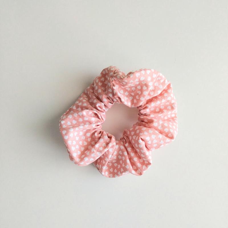 Coletero mini corazonez rosa