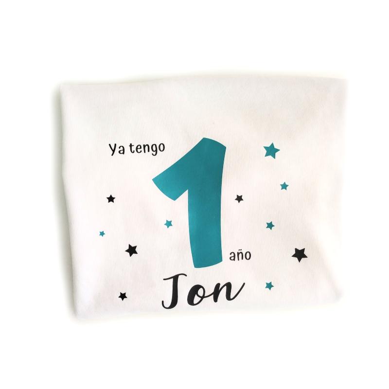 Camiseta cumpleaños estrellas