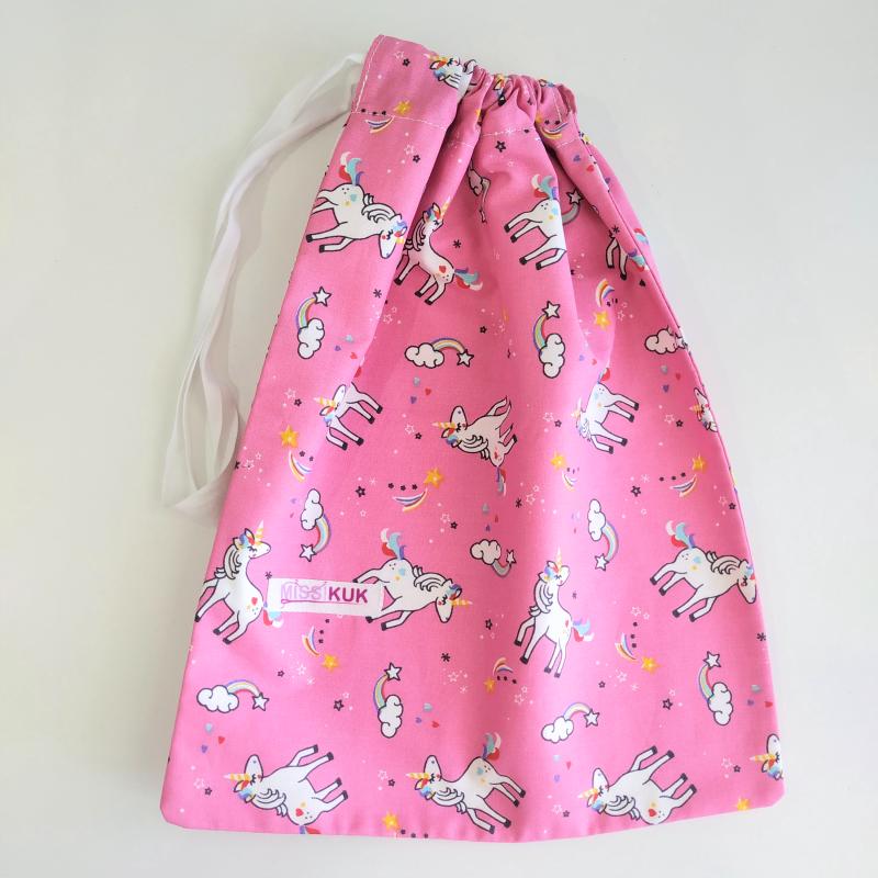 Bolsa unicornios fucsia