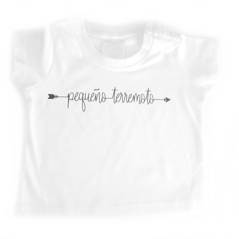 Camiseta pequeño terremoto