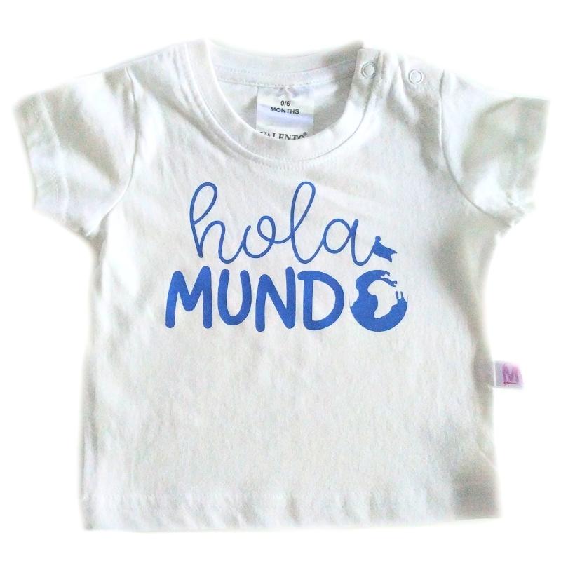 Camiseta Hola mundo